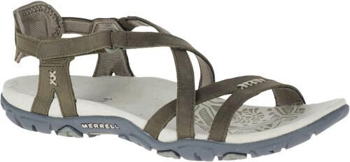 Merrell Sandspur Rose Leather Sandals Women Slate Schuhgröße 39 2018 Schuhe Original-Verkauf Online qaaXi